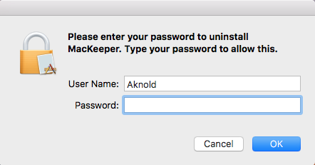 uninstall Mackeeper on Mac (2)
