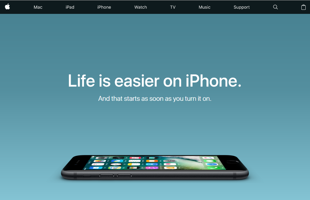 Apple Launches A New 'Switch' Page to Attract Android Users