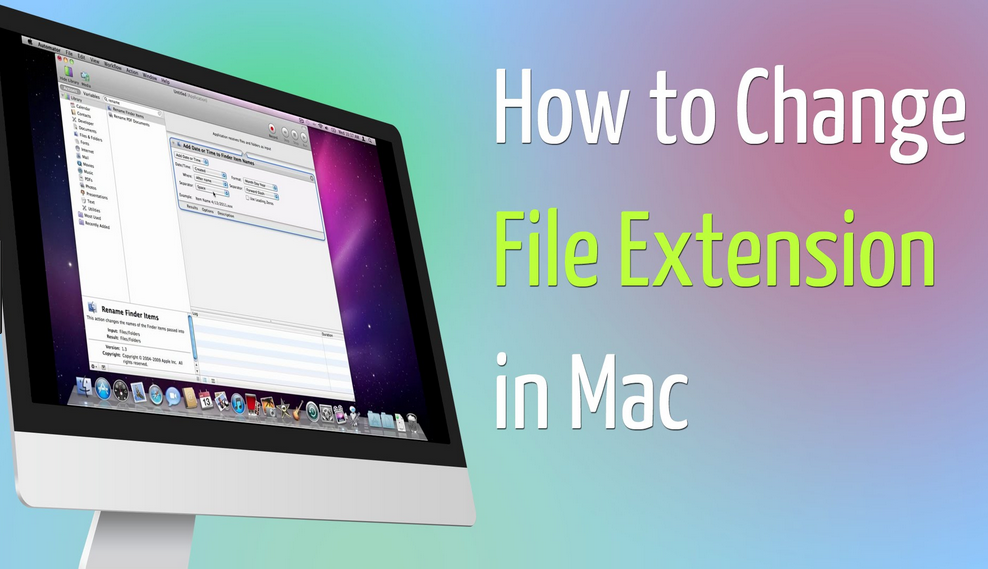 Simple Steps to Batch Change File Extensions on Mac