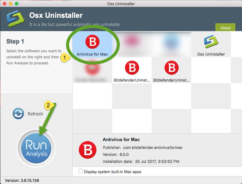 Uninstall Bitdefender Antivirus for Mac with Osx Uninstalelr (1)