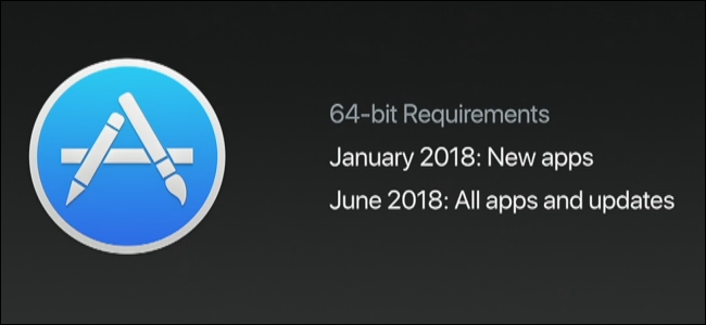 Apple to Phase out 32-bit Mac Apps Starting January 1, 2018
