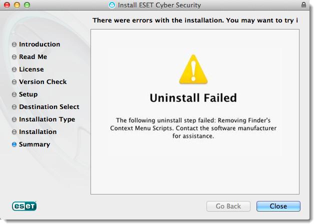uninstall ESET Endpoint Antivirus for Mac (10)