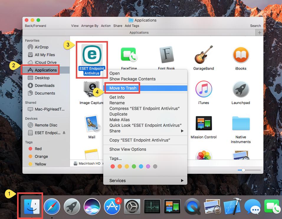 Put password on folder mac