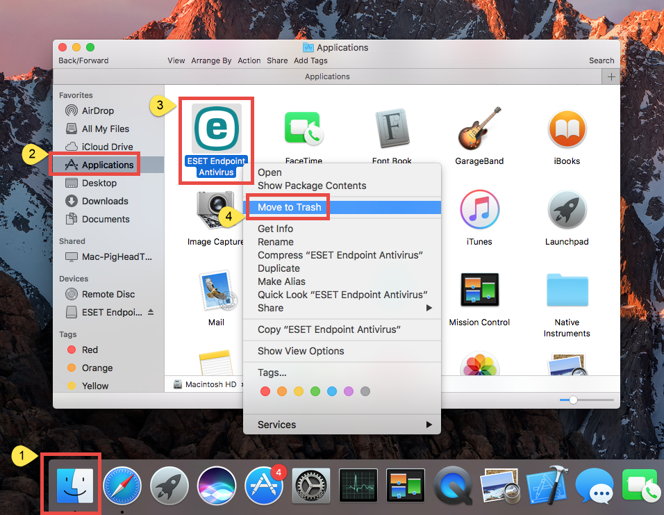 uninstall ESET Endpoint Antivirus for Mac (3)