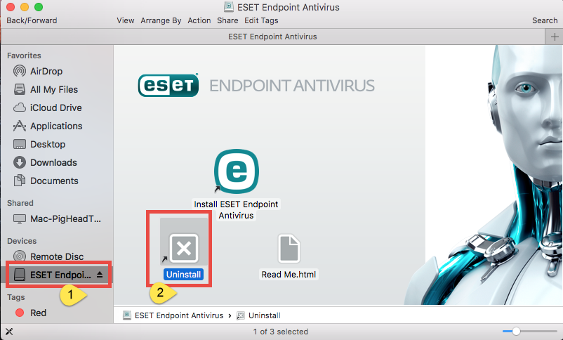 uninstall ESET Endpoint Antivirus for Mac (5)