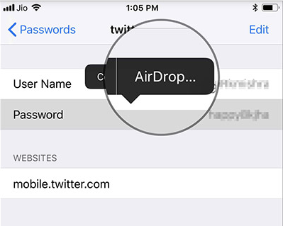 How to AirDrop Passwords in macOS Mojave 10.14 & iOS 12
