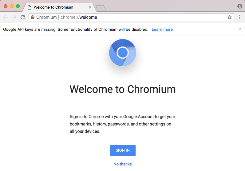 uninstall Chromium for mac