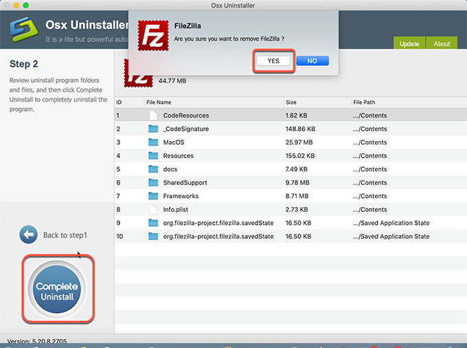 complete-uninstall-filezilla