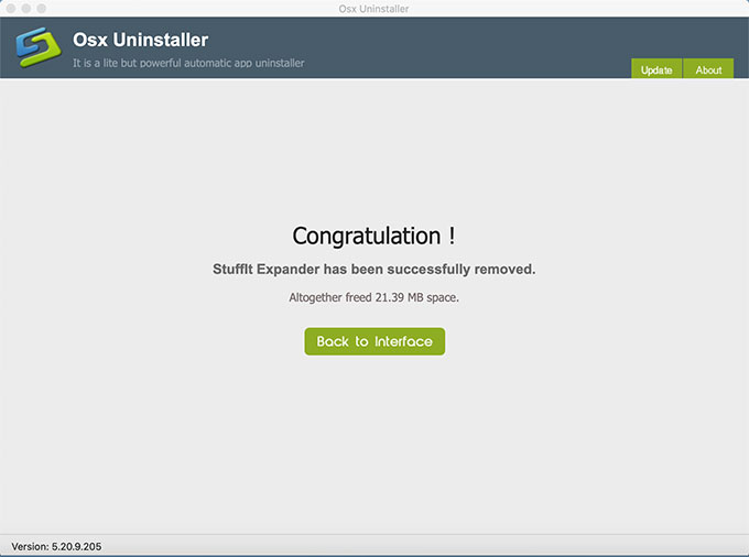 Complete Uninstall StuffIt Expander