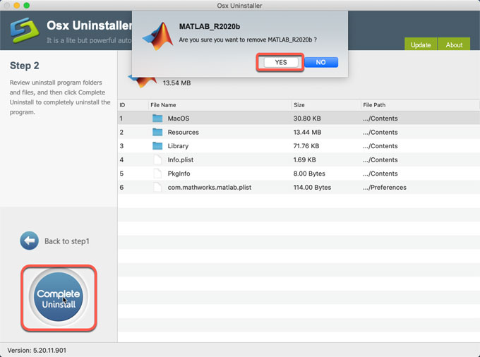complete uninstall Matlab
