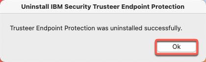 remove Trusteer Rapport successfully